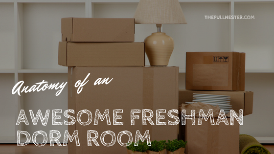 Anatomy of an Awesome Freshman Dorm Room