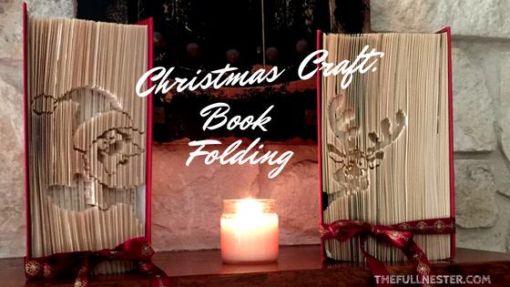 Christmas Craft: Book Folding