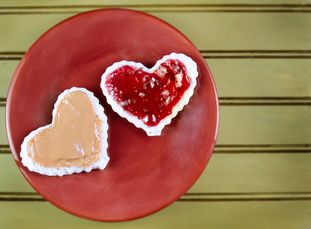 Valentine's Day Heart Shaped Food