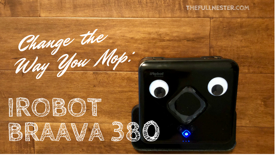 Change The Way You Mop–iRobot Braava 380