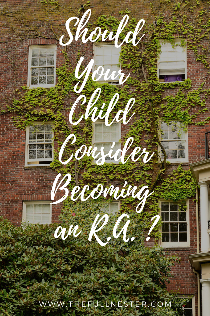 Should Your Child Consider Becoming an R.A.?