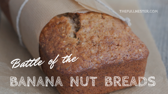 Battle of the Banana Nut Breads