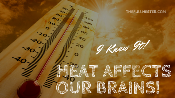 I Knew It! Heat Affects Our Brains!