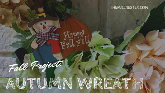 Fall Project: Autumn Wreath