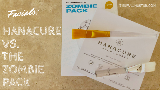 Facials: Hanacure vs. the Zombie Pack