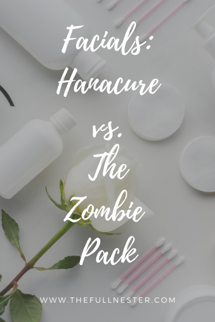 Hanacure Facial and the Zombie Pack