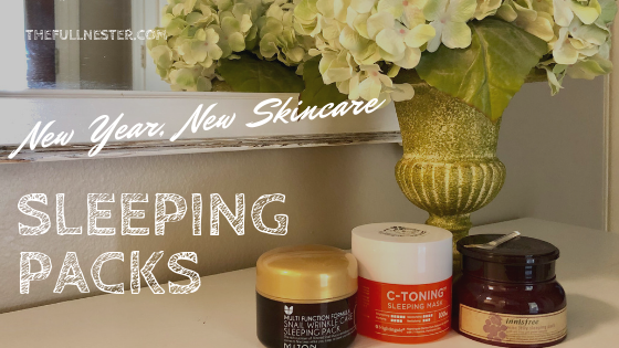 New Year, New Skin Care: Sleeping Packs