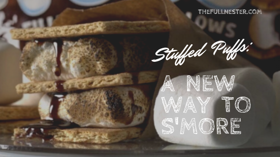 Stuffed Puffs: A New Way to S'more