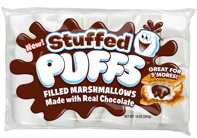 Stuffed Puff S'mores