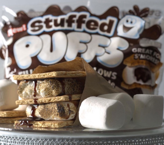 Stuffed Puffs S'mores