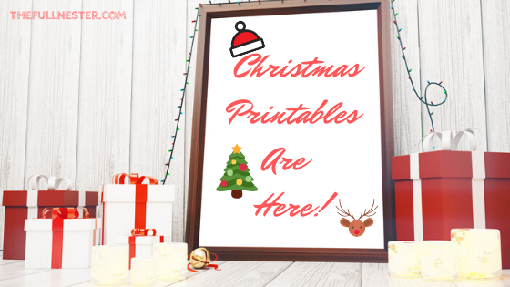 Christmas Printables are here!
