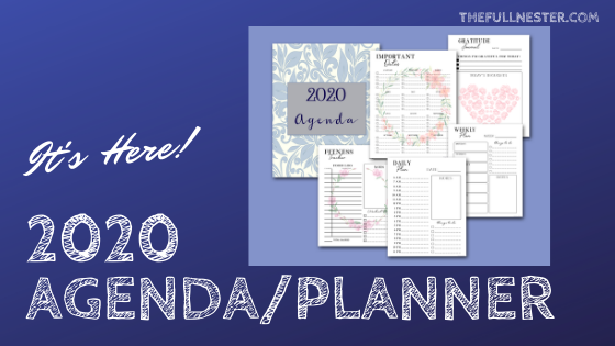New 2020 Agenda/Planner is here!