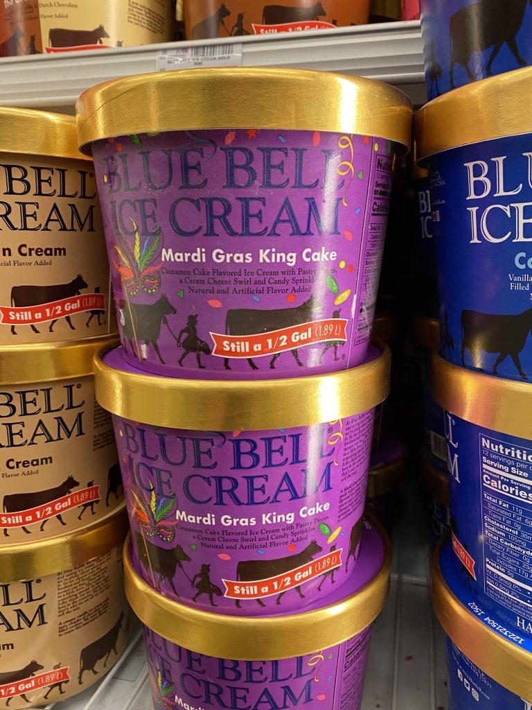 King Cake Ice Cream