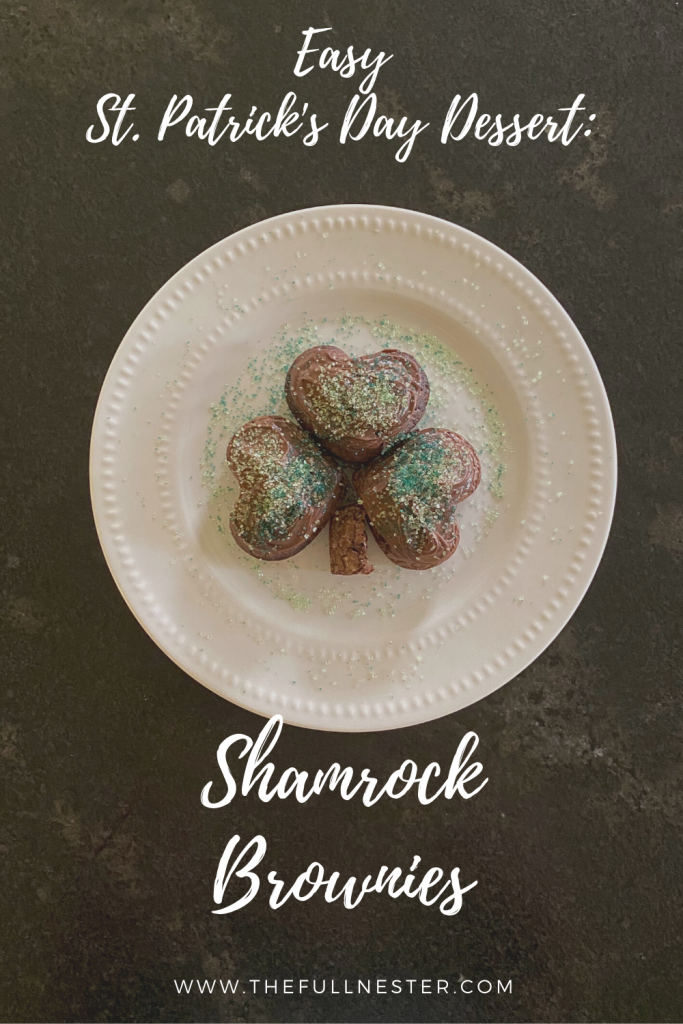 Shamrock Brownies