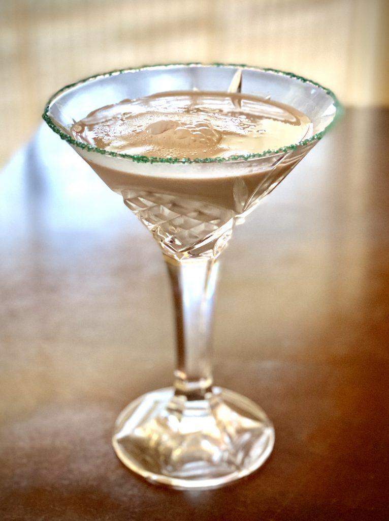 Leprechaun's Kiss Martini