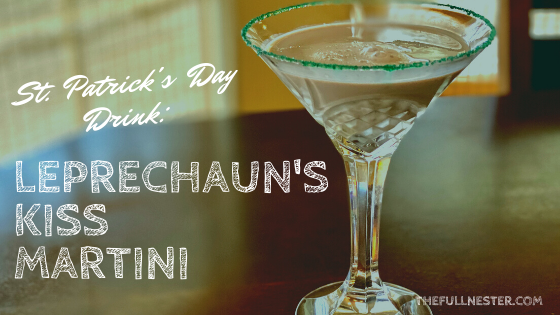 St. Patrick's Day Drink: Leprechaun's Kiss Martini