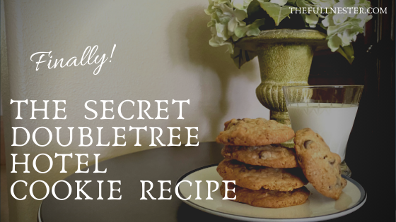 It's Here! The Official Doubletree Cookie Recipe