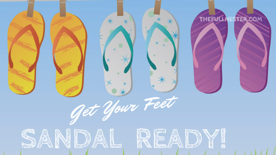 Get Your Feet Sandal Ready!