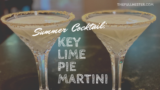 Summer Cocktail: Key Lime Pie Martini