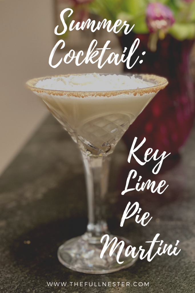Key Lime Pie Martini