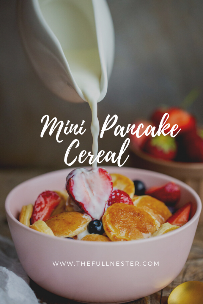 Mini Pancake Cereal
