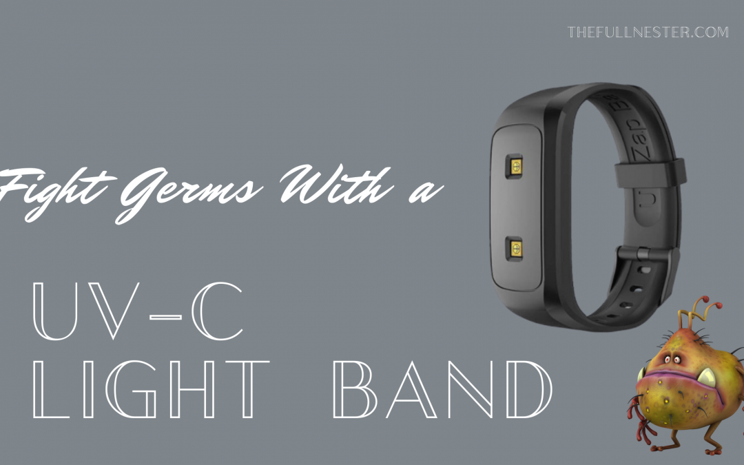 Fight Germs with a UV-C Light Band