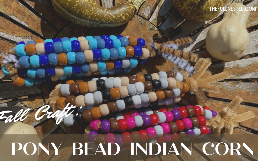 Fall Craft–Pony Bead Indian Corn