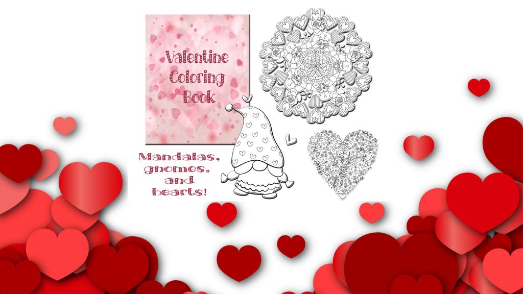 Valentine Coloring Book