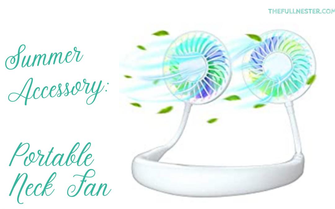 Summer Accessory: Portable Neck Fan
