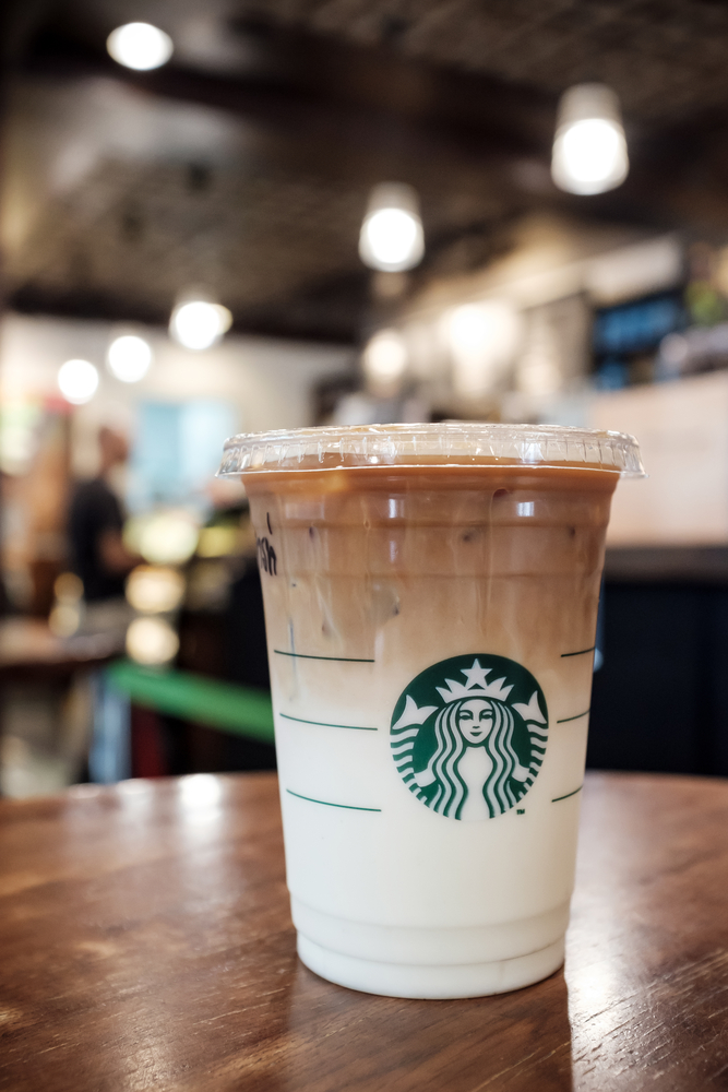 Low-Carb Starbucks Swap