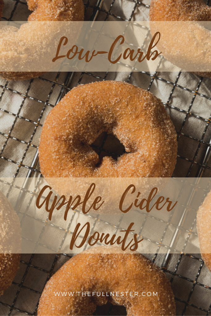 Low-Carb Apple Cider Donuts